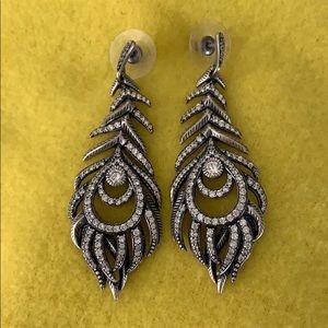 Retired Kendra Scott feather earrings